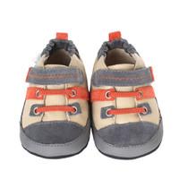 Robeez William Baby Shoes Grey