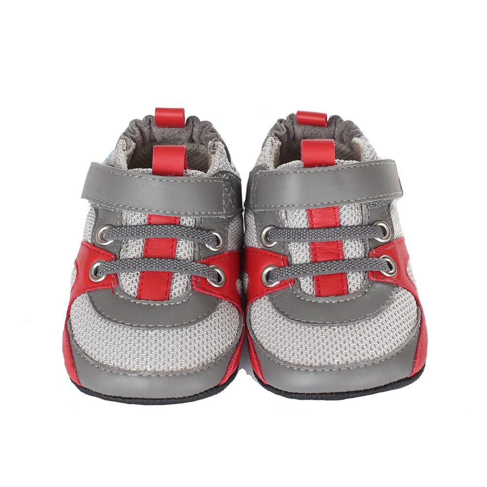 Robeez Henry Mini Shoez, Grey, Boys, Baby, Infant, Pre-Walker, Toddler,  3-24 Months
