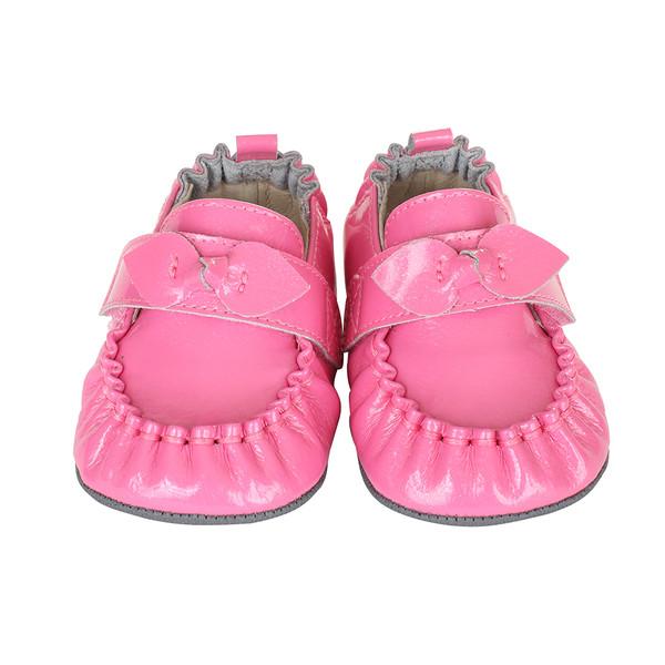 pink fancy mini shoez baby shoes robeez
