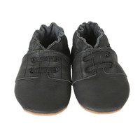 Robeez Special Occasion Baby Shoes Black