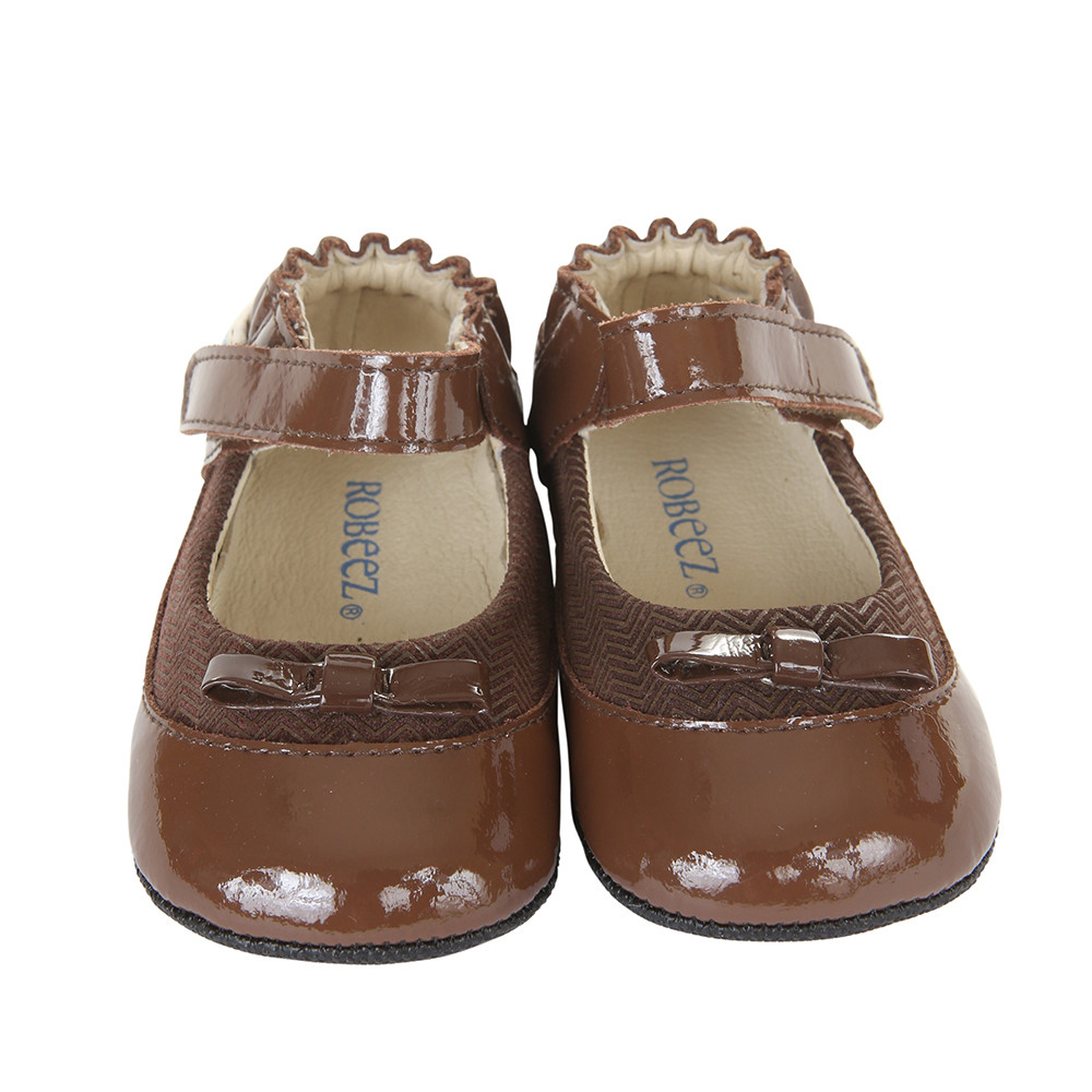 Robeez Eloise Baby Shoes Brown