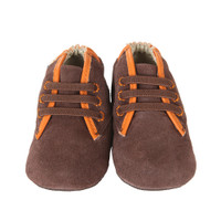 Robeez David Baby Shoes Brown