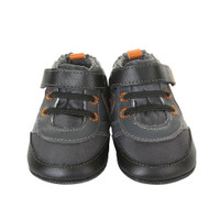 Robeez Freddy Fitness Baby Shoes Grey