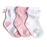 Robeez Baby Girl Socks 3 Pack