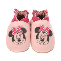 Minnie Dots Baby Shoes, Pink