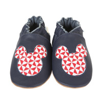 Mickey Geo Baby Shoes
