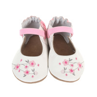 Stella Mary Jane Soft Soles, White