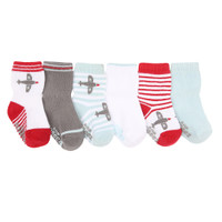 Robeez Aviator Games Baby Socks
