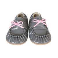 Fancy Pants Baby Shoes, Grey, Mini Shoez