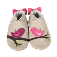 Tweeting Tessa Baby Shoes