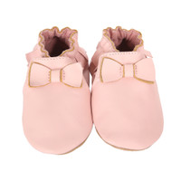 Premium Leather Maggie Moccasin, Pink