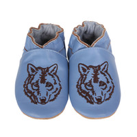 Robeez Wandering Wolf Baby Shoes