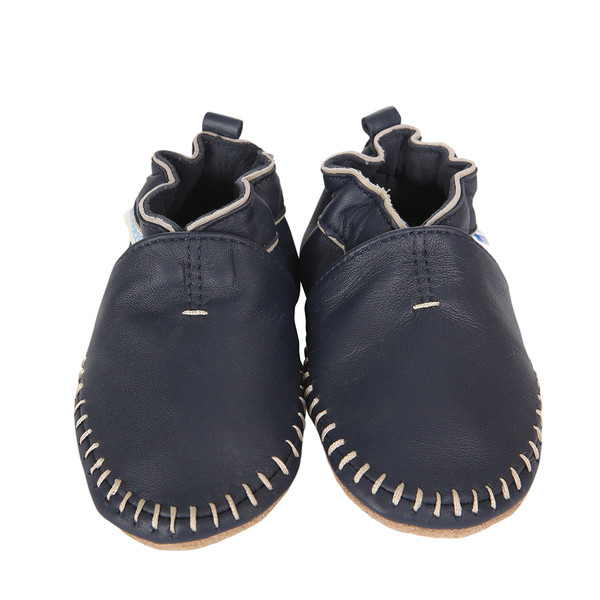Robeez Classic Moccasin Navy