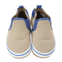 Robeez Liam Baby Shoes Taupe