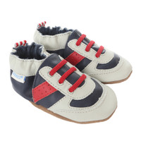 Super Sporty Baby Shoes, Navy