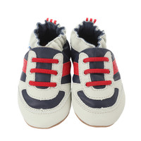 Robeez Super Sporty Baby Shoes Navy