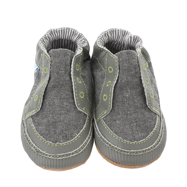Robeez Stylish Steve Baby Shoes Stone