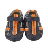 Robeez Rugged Rob Baby Shoes Navy