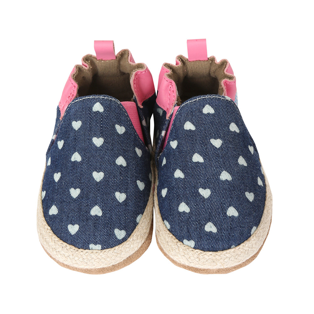 Robeez Hert Mania Baby Shoes