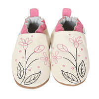Robeez Pink Sugar Baby Shoes