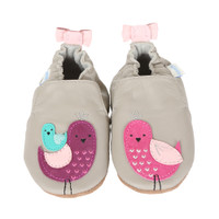 Robeez Peaceful Partridge Baby Shoes