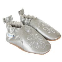 Metallic Mist Baby Shoes