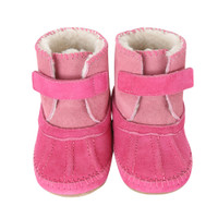 Galway Cozy Bootie Baby Boots, Pink