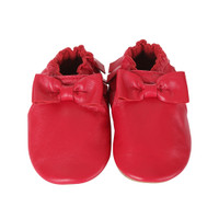 Robeez Maggie Moccasins Cranberry Baby
