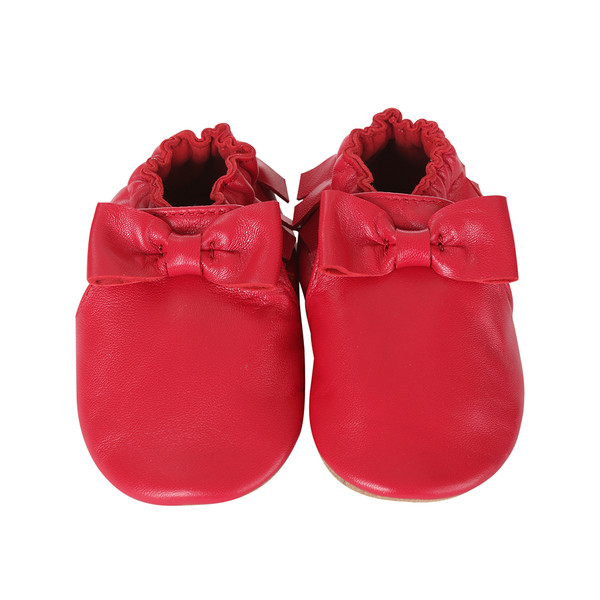 Robeez Maggie Moccasins Cranberry Baby