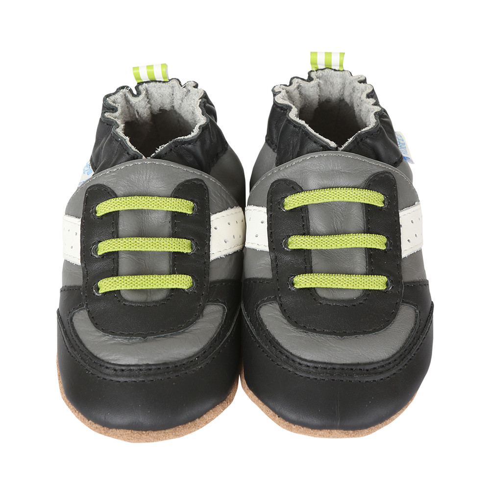 Super Sporty Baby Shoes Grey