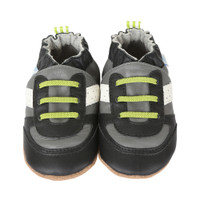 Robeez Super Sporty Baby Shoes Grey