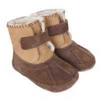 Galway Cozy Baby Boots, Brown, Soft Soles