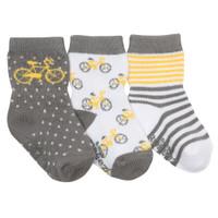 Robeez Bicycle Baby Socks