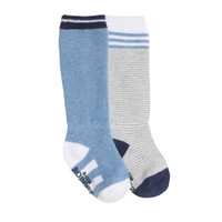 Robeez Cool Blue Baby Boot Socks