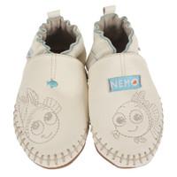 Nemo Disney cream leather baby shoes