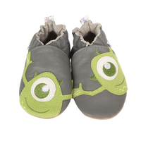 Disney Monsters Inc Baby Shoes leather