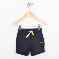 Navy cotton shorts for babies, infants and toddlers.