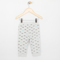 Reversible grey pant for boys and girls