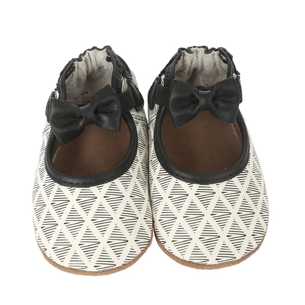 Soft Sole white leather baby shoes for girls