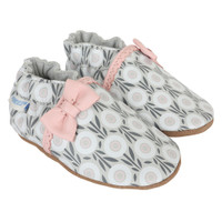 Wildflowers Baby Shoes, Soft Soles