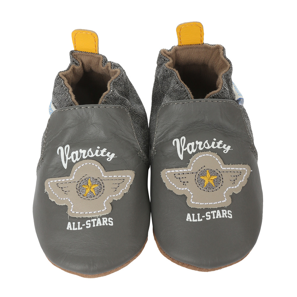 Soft soled leather baby shoes