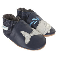 Let's Go Swimming Baby Shoes, Soft Soles