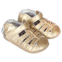 Paris Baby Sandals, Gold, Mini Shoez