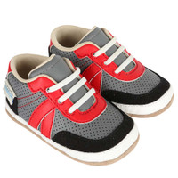 Baby shoes for boys and girls that look like athletic shoes for mom or dad.