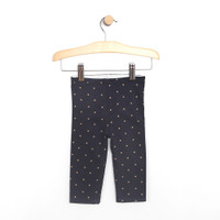 Pants for baby girls.  Reversible.  Navy and Grey.