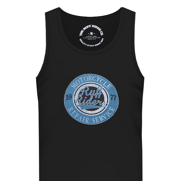 The RUFF RIDERS CYCLE WORKS Tank
