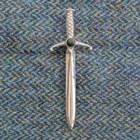 Caithness Greenstone Sword Kilt Pin