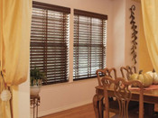 "2.5"" Normandy Premium Wood Blinds (Steel Headrail)"