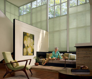 """Portrait 9/16"""" Honeycomb Shades (Standard Cordless Headrail) from our Cellular Shades sections"""