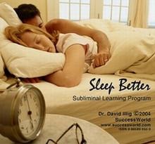 Sleep Better CD